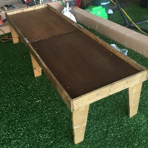 DIY kids play table